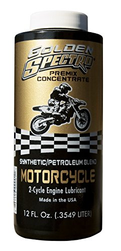 Spectro N.GSMC Golden Spectro 2-Cycle Oil Synthetic Blend Premix, 12 oz. by Spectro Oil
