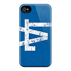 Iphone 6 QXt2071vWiq Unique Design Trendy Los Angeles Dodgers Pattern Shock Absorption Hard Phone Cover -Marycase88