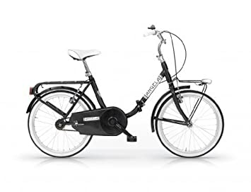 MBM ANGELA 20 BICYCLE FOLDING BIKE BICICLETA PLEGABLE NEGRO