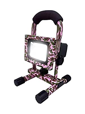 Flood-It FLIFL10PCACW PRO Rechargeable LED Floodlight 10W Cam, Pink