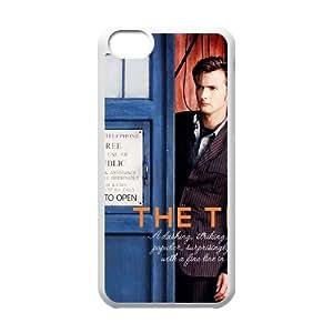 5c caso David Tennant doctor Who funda iPhone B6A21P5UQ funda V1N3U6 blanco
