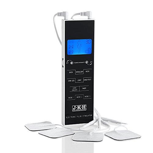 JKH TENS Unit Electronic Pulse Stimulator -Portable,Handheld for Pain Management,Household Medical Equipment by JKH