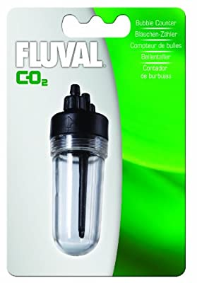 Fluval 88g-CO2 Bubble Counter - 3.1 Ounces by Fluval