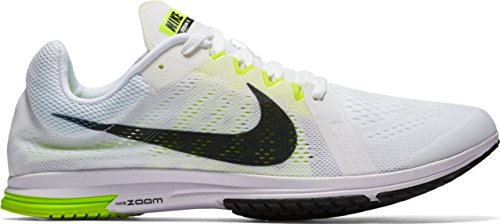 Nike Zoom Streak Lt 3, Zapatillas de Deporte Unisex Adulto Blanco / Negro / Verde (White / Black-Volt)
