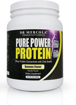 Amazon.com: plátano Mercola Pure Power proteína en polvo ...