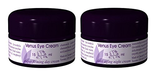 Venus Eye Cream Combo Super Firming Day and Anti-Aging Night 2 – .5oz 15ml Jars