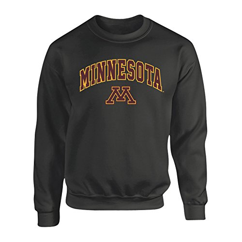 Minnesota Golden Gophers Crewneck Sweatshirt Arch Charcoal - XL