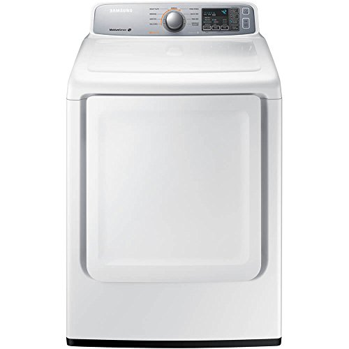 Samsung DV45H7000EW 7.4 Cu. Ft. Electric Dryer with Sensor Dry, White