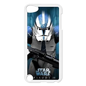 PK-PHONECASE Customized Print Star Wars Soldier Pattern Hard Case for iPod Touch 5