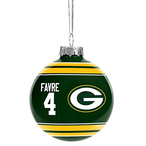Green Bay Packers Brett Favre #4 Retired Player Glass ()