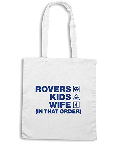 T-Shirtshock - Bolsa para la compra WC1080 tranmere-rovers-kids-wife-order-tshirt design Blanco