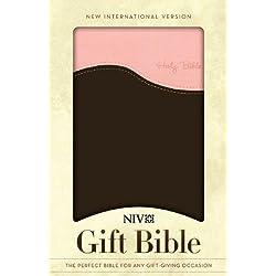 NIV Gift Bible, Pink/Chocolate