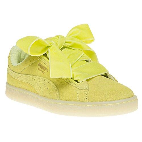 Suede Heart Jaune Puma Yellow Femme Mode Reset Baskets q1wwdfx8v