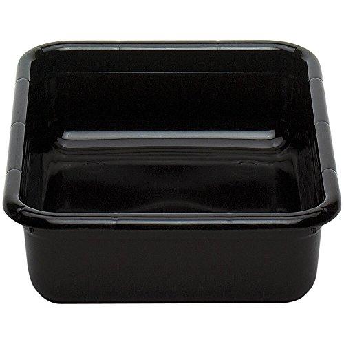 Cambox, 15-5/16''L X 19-15/16''W X 4-15/16''H, Hi-Impact Plastic, Black (12 Pieces/Unit) by Cambro