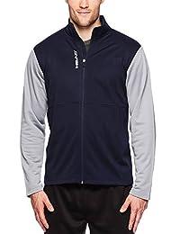 HEAD Men's Full Zip Up Activewear Jacket - Long Sleeve Running & Workout Outerwear