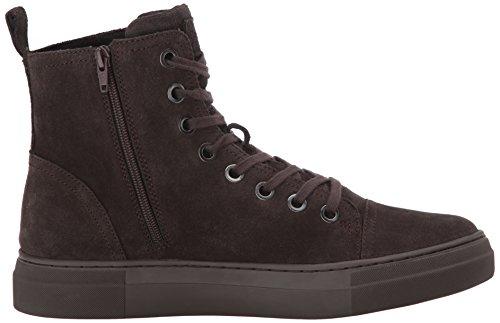 Steve Madden Mens Ormisten Fashion Sneaker In Pelle Scamosciata Marrone