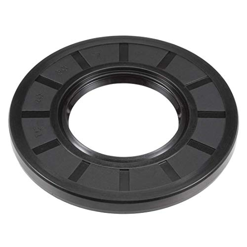 (ZCHXD Oil Seal, TC 40mm x 80mm x 7mm, Nitrile Rubber Cover Double Lip)