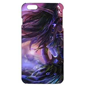 Fairy Lady Style World of Warcraft Phone Case Cover for Iphone 6 Plus / 6s Plus ( 5.5 Inch )