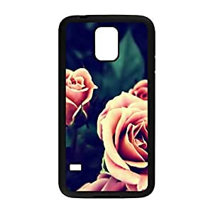 ka ka case Pink Roses Instagram Protective Hard PC Snap On Case for Samsung Galaxy S5-2029