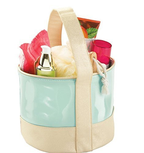 Interi Design Bath tote bag Shower tote- college dorms, beach, pool, spa bag