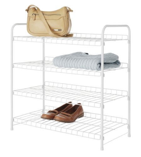White 4 Shelf - 8