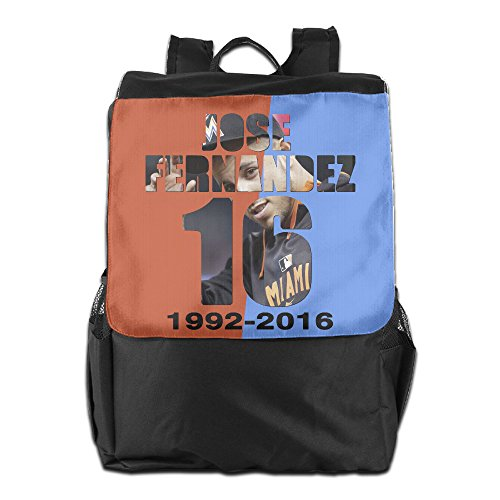 RIP Jose Fernandez Marlins Outdoor Camping/ Hiking/ Travel Backpack, Multipurpose Daypack Book Bag For Men & Women (Same Day Delivery Miami)