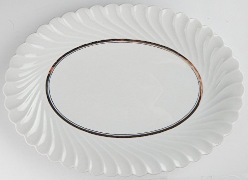 (Haviland China DEAUVILLE Oval Serving Platter)