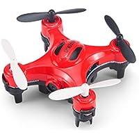 ZZSYU DHD D2 MINI With 2.0MP HD Camera Headless Mode RC Quadcopter RTF (Red)