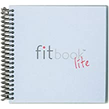 """Fitlosophy Fitbook Lite 6-Week Fitness Weight Loss Food Journal and Meal Planner, 6.2"""" W x 5.8"""" L"""
