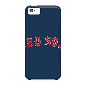 Tpu Cases Covers For Iphone 5c Strong Protect Cases - Baseball Boston Red Sox 4 Design