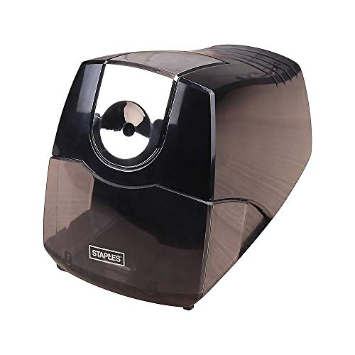 Staples 356332 Power Extreme Electric Pencil Sharpener Heavy-Duty Black (21834) by STAPLES (Image #1)