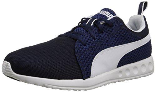 PUMA Mens Carson Runner Knit Lace-Up Fashion Sneaker