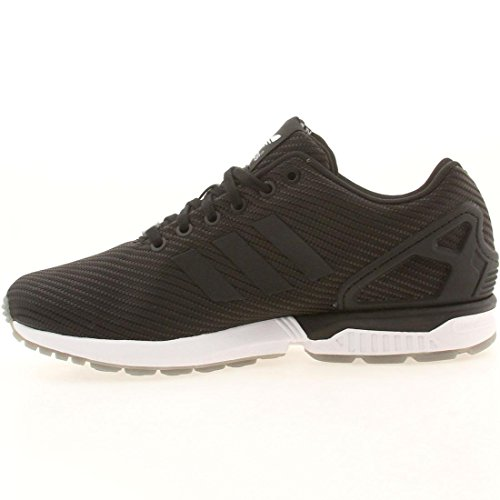 Adidas Mens ZX FLUX BLACK,BLACK,GREY B34909 14