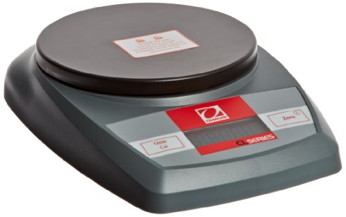 Ohaus CL201 CL Series Portable Compact Scales, 200g Capacity, 0.1g Readability