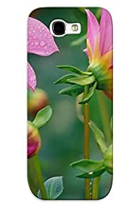 Awesome Case Cover/galaxy Note 2 Defender Case Cover(flowers Nature Plant Beautiful Plant Green Red Yellow Pink Blue ) Gift For Christmas