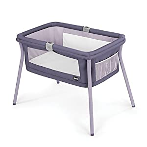 Chicco LullaGo Portable Bassinet, Iris