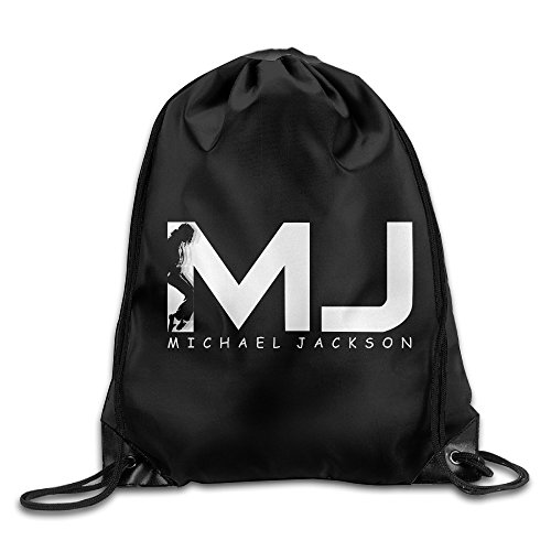 Jasoo Michael Jackson Boy Knapsack Travel Size Size Key White. ()