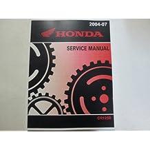 2004 Honda CR125R Bike Service Repair Shop Factory Workshop Manual BRAND NEW