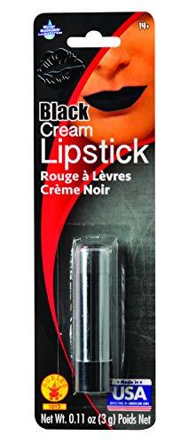 Women Vampire Makeup (Rubie's Women's Cream Lipstick, Black, One)