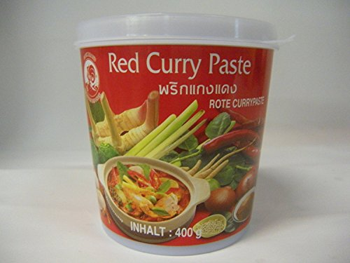 Cock Rote Currypaste, 400g
