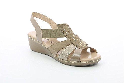GRUNLAND SA1790 COFA Sandalo Donna P. Beige