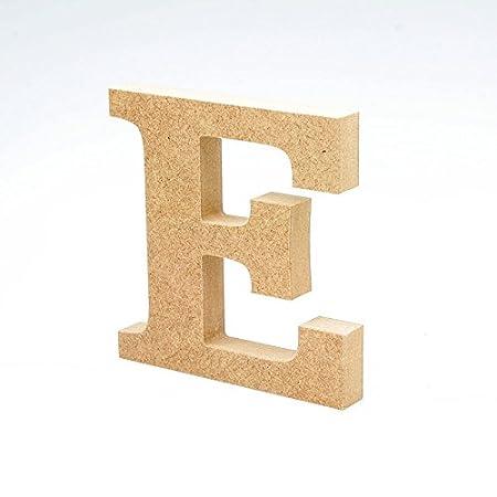 95ac3817ae56 Letras de madera. Letras grandes de madera de 20cm de alto para decoración.  Alfabeto completo (E)