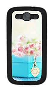Samsung Galaxy S3 I9300 Cases & Covers - Flower And Accessories Custom TPU Soft Case Cover Protector for Samsung Galaxy S3 I9300 - Black