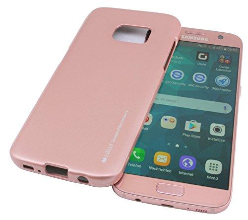 TPU SchutzHülle für Iphone 7 PLUS Silikon Hülle Etui Case Cover Silikontasche Silikonschale Tasche Bumper Zubehör in Rose @ Energmix
