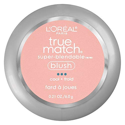 L'Oreal True Match Super-Blendable Blush, Baby Blossom 0.21 oz (Pack of 3)