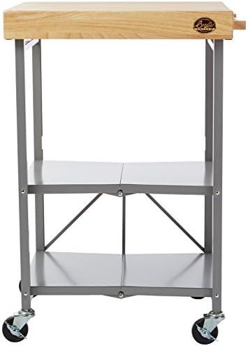 Bradley Smoker Foldable Kitchen Cart