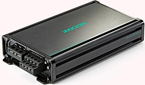 Kicker KMA300.4 4x75 Watt 4-Channel Weather-Resistant Full-Range Amplifier - Kicker Car Amps