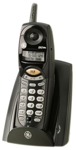 amazon com ge 2 4 ghz cordless phone with call waiting caller id rh amazon com GE Corded Phones GE Cordless Phone Headset