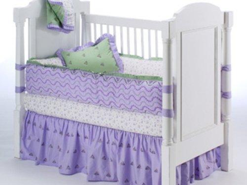 Summer Garden Lilac/green - 5 Pc Crib Bedding ()