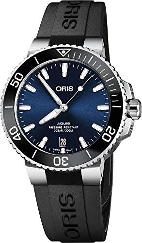 Oris Diving Analog Blue Dial Men's Watch – 01 733 7732 4135-07 4 21 64FC